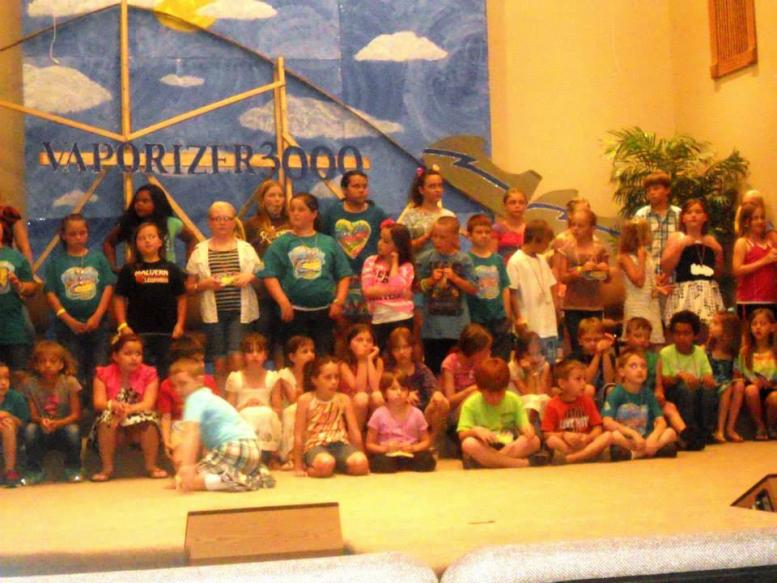 2013 VBS Colossal Coaster World